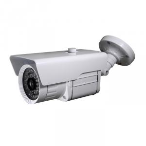 CCTV IR Waterproof Camera with 36pcs IR Leds and 30M IR Range, 3.6mm Lens and 3-Axis Cable Built in Bracket