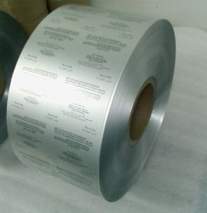 PTP Aluminum Foil with ISO Certificate for Pharma Packaging