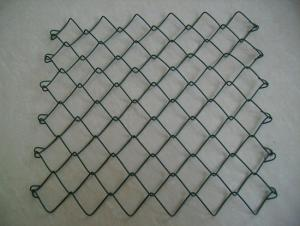 PVC coated chain link fence-1