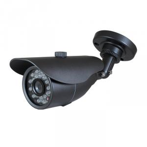 CCTV Camera IR Waterproof Fixed Camera with 23pcs IR Leds 3.6mm Lens and 3-Axis Cable Built-in Bracket