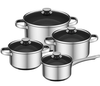 Stainless Steel Cookware straight shape