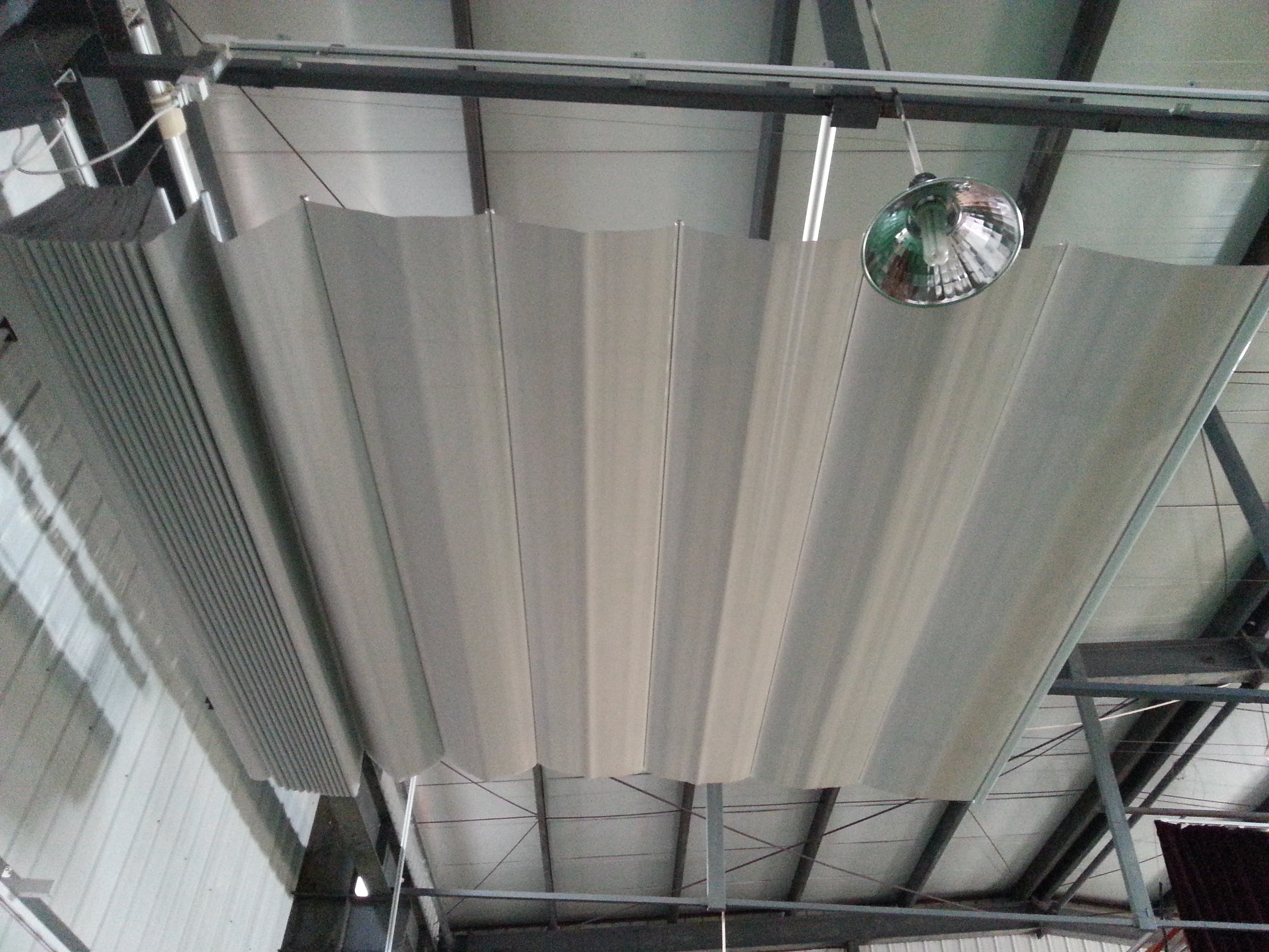 Electric Foldaway Roof Blinds Ceiling Blinds Skylight Canopy Blinds