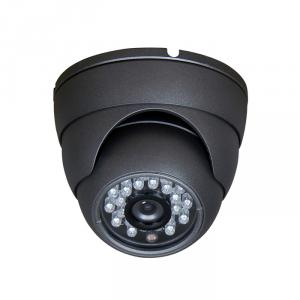 CCTV Camera Metal Dome Camera with 23pcs IR Leds