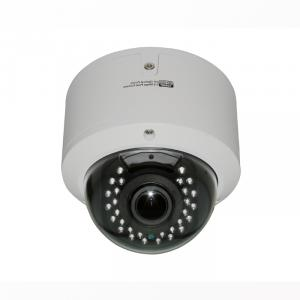 Metal Dome Camera for CCTV Surveillance with 30pcs IR Leds 2.8-12mm Varifocal Lens CMOS, CCD Optional
