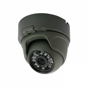 Metal Dome Camera for CCTV Surveillance with 23pcs IR Leds CMOS, CCD Optional