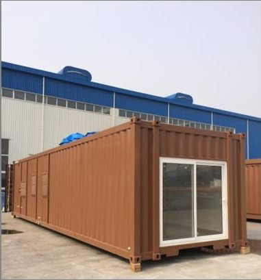 Container house for house