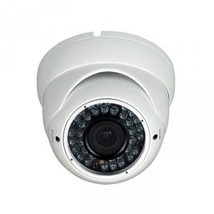 CCTV Camera Metal Dome Camera with 36pcs Leds and 2.8-12mm Manual Varifocal Lens
