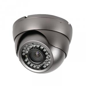 CCTV Camera 3.5 Metal Dome Camera with 36pcs Leds 6mm Lens, Sony, Sharp CCD Optional