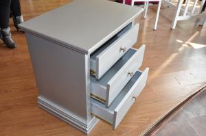 Modern bedside table with drawers,night table