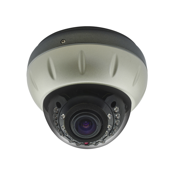 Metal Dome Camera for CCTV Surveillance with 24pcs IR Leds CMOS, CCD Optional
