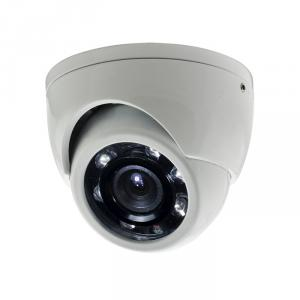 Small Size Metal Dome Camera for CCTV Surveillance with 6pcs IR Leds and 5M IR Range CMOS, CCD Optional