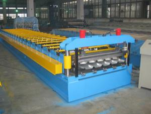 metal sheet roof tile making machine
