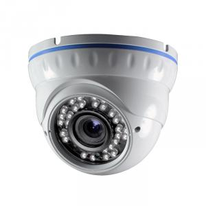 CCTV Camera Metal Dome Camera with 36pcs IR Leds with 2.8-12mm Manual Varifocal Lens