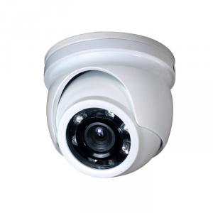 MINI Metal Dome Camera for CCTV Surveillance with 6pcs IR Leds CMOS, CCD Optional