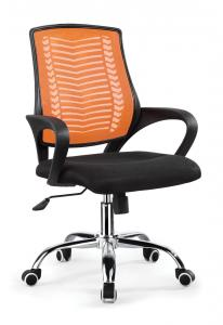 ZHSMC-08P Swivel Office Chair With Colored Painted Legs and Mesh Backrest