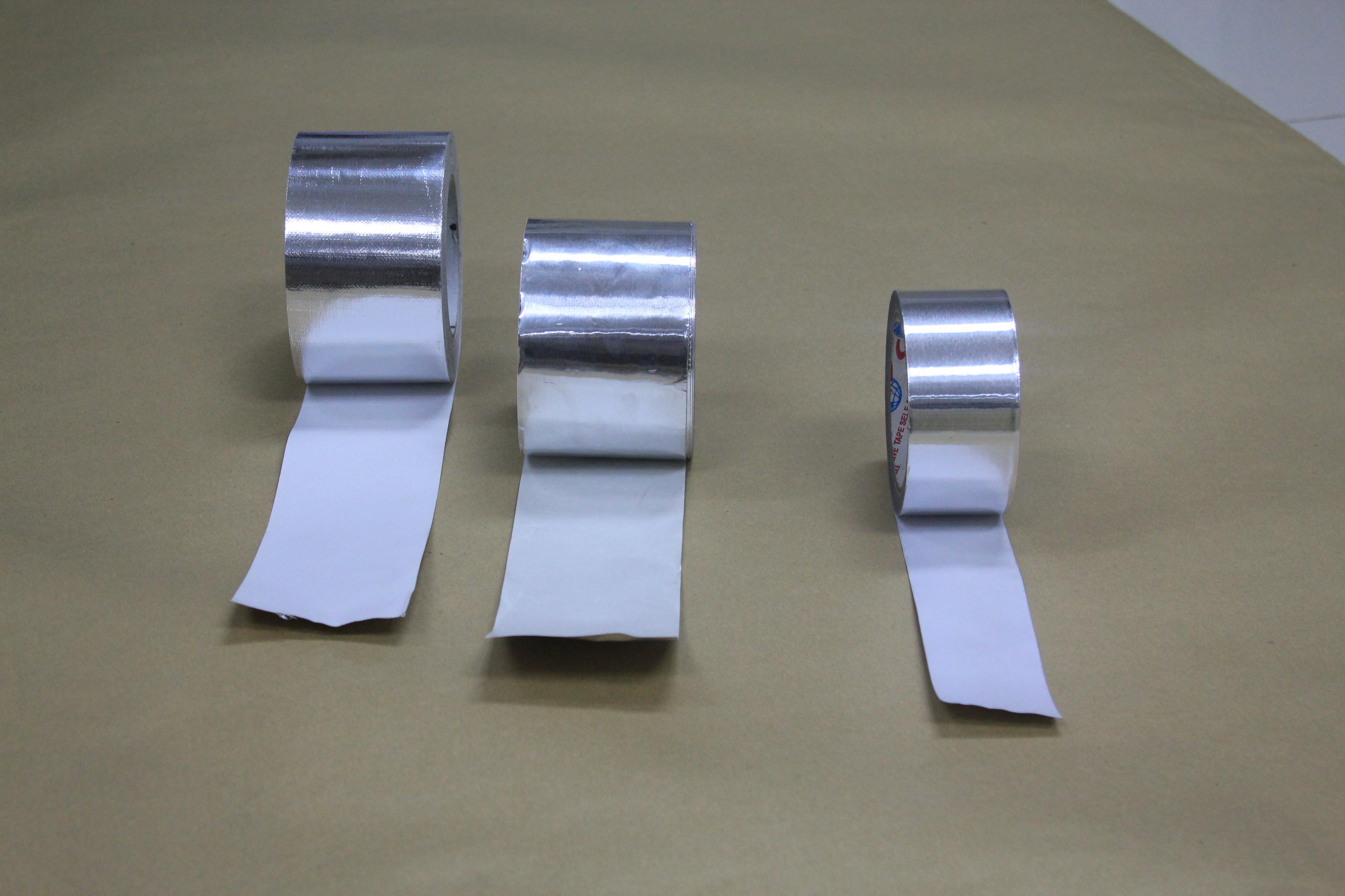 Buy Aluminum Foil Tape White Silicon Paper Price Size