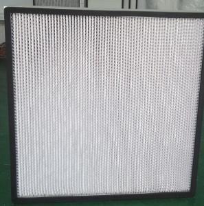 hepa H13 glassfiber air filter