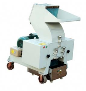 Low speed recycled plastic crusher