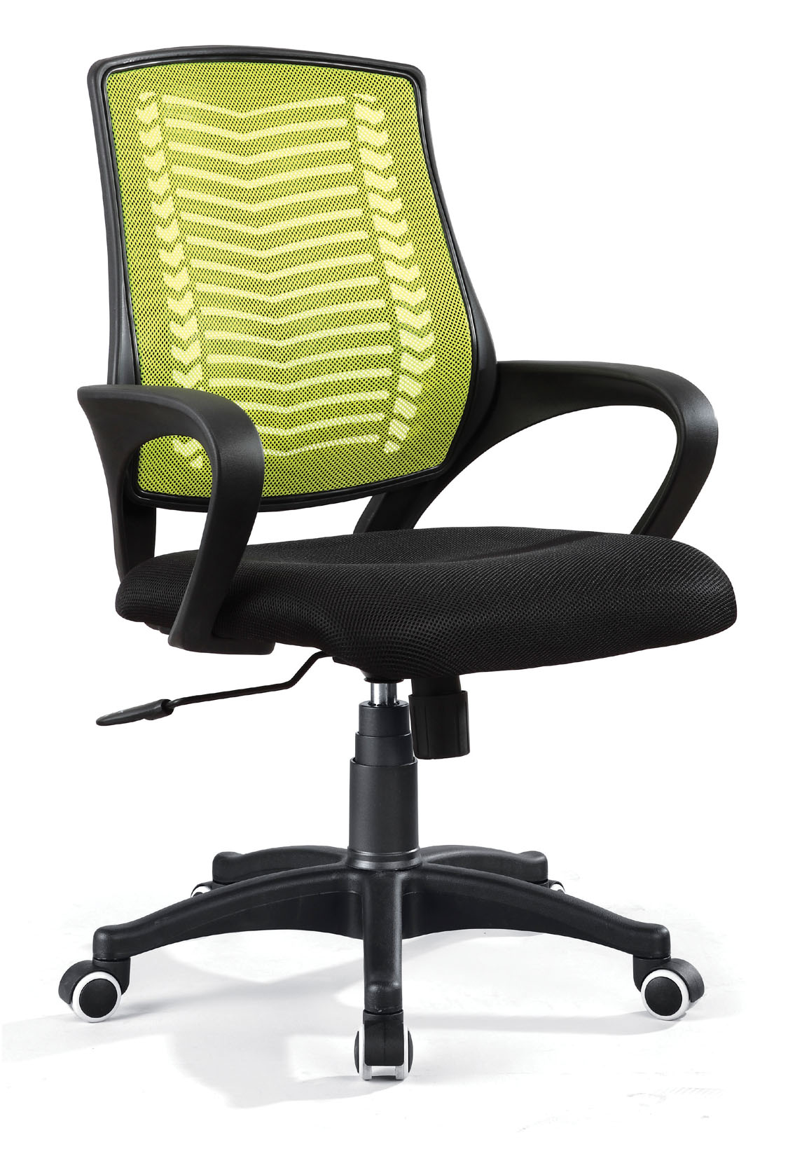 ZHSMC-08 Swivel Office Chair With Colored Painted Legs and Mesh Backrest