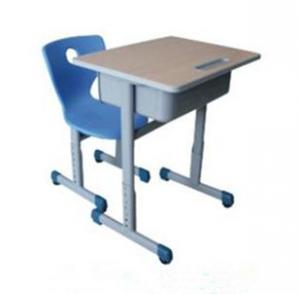 Plastic Single Student Desk and chair SDC-02