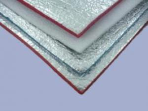 ALUMINUM FOIL WOVEN FABRIC DOUBLE SIDE