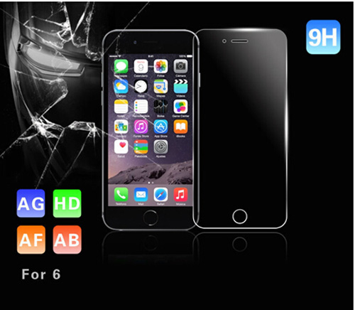 Thin 0.2mm Mobile Phone Tempered Glass Screen Protector for IPhone 6