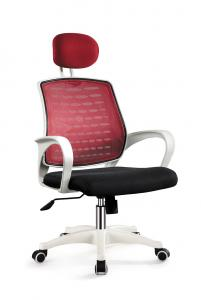 ZH-Swivel Office Chair with Neck Support and Mesh Surface