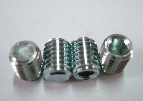 DIN913  Hexagon Socket Set Screws with Flat Point