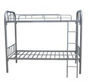 Heavy Duty Iron Tube Bunk Bed for School or Military