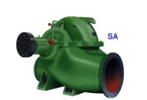 SA Single-stage double-suction centrifugal pumps