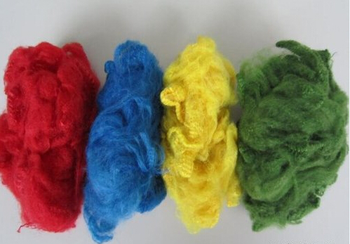 Colorful Polyester Staple Fiber
