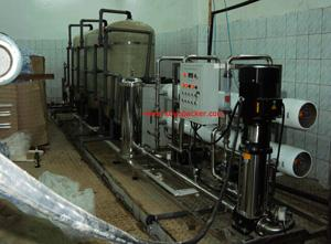 Complete Pure water Production Line For Bottle Water Project in Cameroon