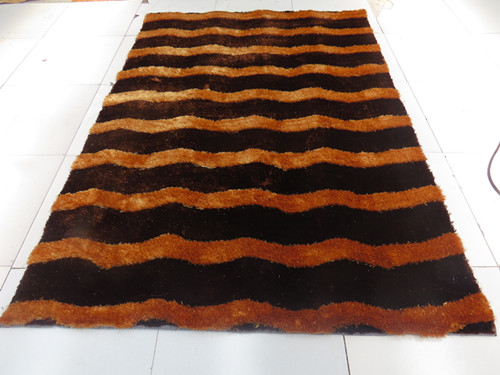 Hign Pile Low Pile Polyester  Silk  Carpet