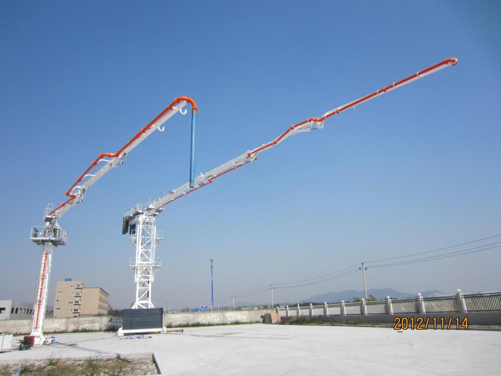 Lattice Tower Type Concrete Placing Boom 51M With 4 R
