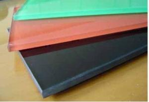 A variety of colors Glaze Reinforced Glass 6mm