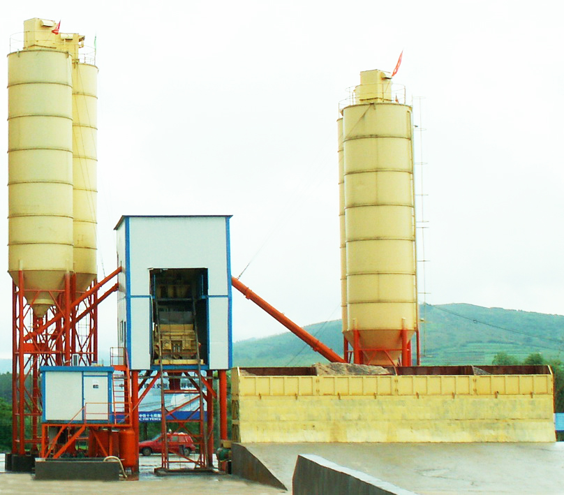 High quality concrete mixing plant production capacity 25m3 per hour