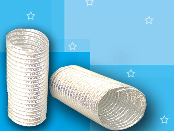 Single-ply aluminum  foil air duct