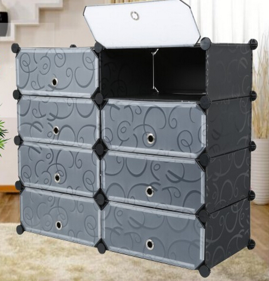 wholesale 8 boxes DIY storage cabinet