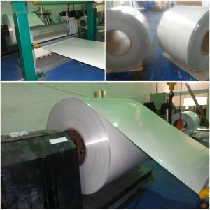 Embossed aluminum coating coil sheets
