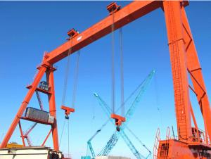 DLT Rubber-tyred Gantry Crane