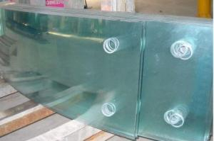 Tempered glass hot bending glass