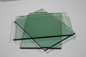 Building Glass Tinted Float Glass French Green Float Glass Sheet with CE, ISO certificate 4mm -12mm