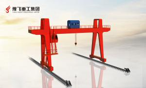 Electric single-girder portal crane