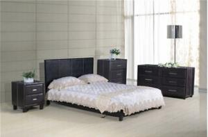 PU Bed with Footboard