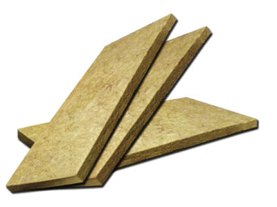Fire proof absorption insulation rock wool board