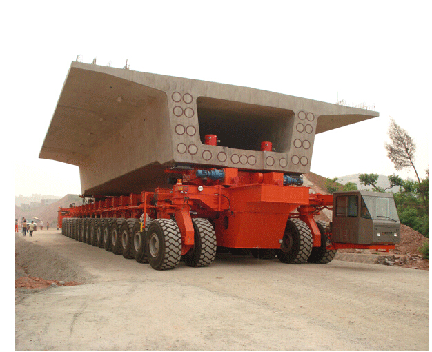 DCY900Rubber-tyred Beam Carrier