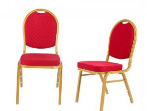 Red Fabric Hotel Chairs