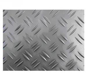 0.1 to 5mm 3 Bar Embossed AluminumSsheet Five Bars Aluminum Sheet