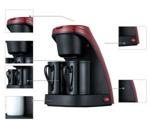 Two Cup Capacity office Coffee Maker