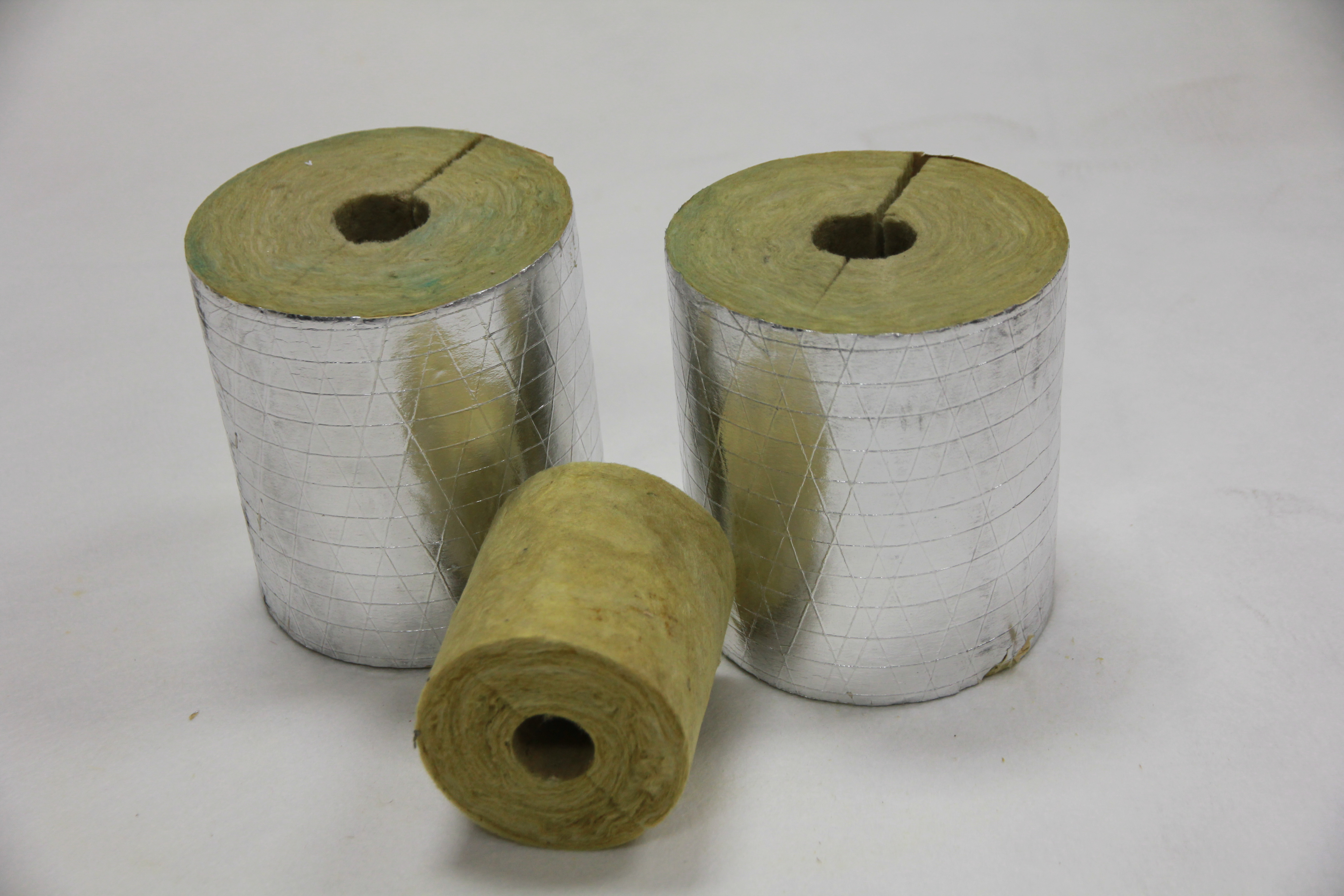 Highly valued rock wool pipe